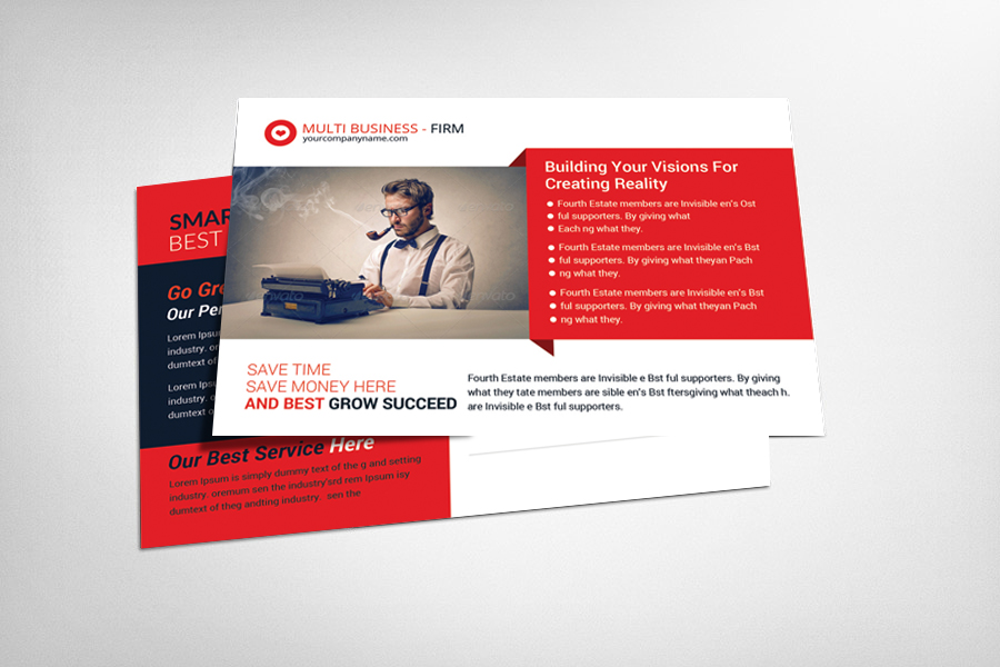 Square Business Card – Full Service Marketing – Commercial Printing